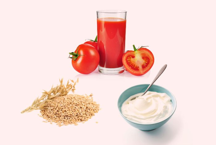 Image result for Tomato, Oatmeal, And Yogurt